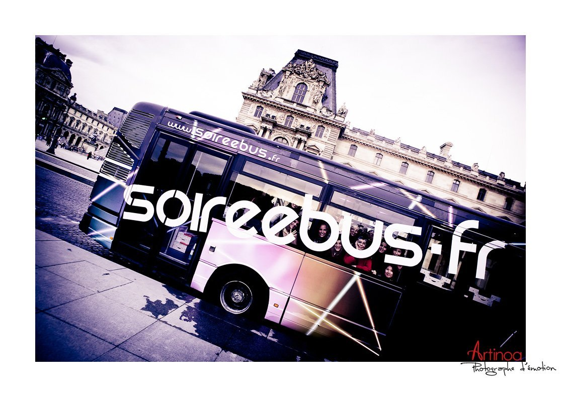 un evjf inoubliable bord d 39 un bus dans paris. Black Bedroom Furniture Sets. Home Design Ideas